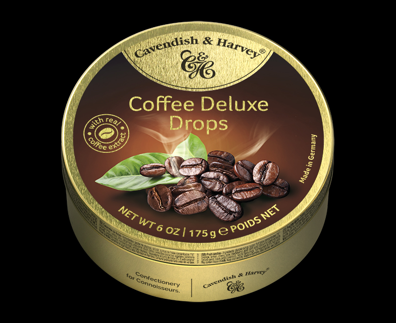 Coffee Deluxe Drops 175g