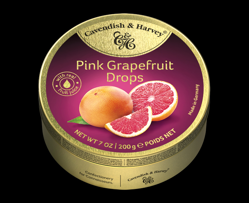 Pink Grapefruit Drops 200g